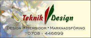 Teknik & Design